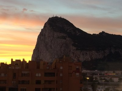 Gibraltar on New Year's Eve 2013-2014