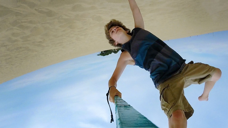 Ben at the Dunes