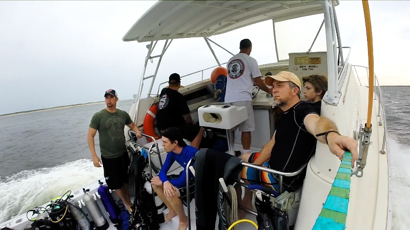Heading to the Dive Site