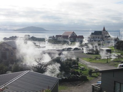 Geothermal Maori village