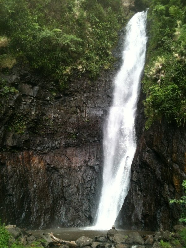 One of three Faarumai waterfalls