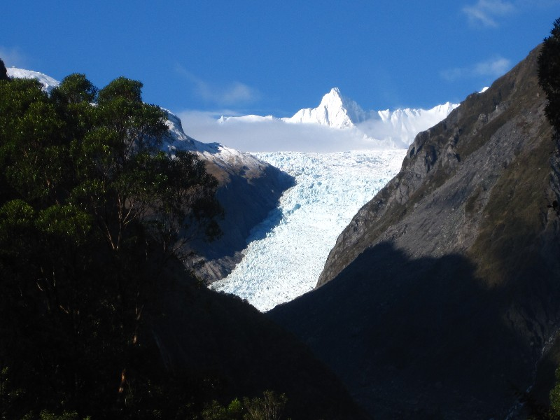 Fox Glacier from a distance