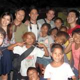 Our Team with street children