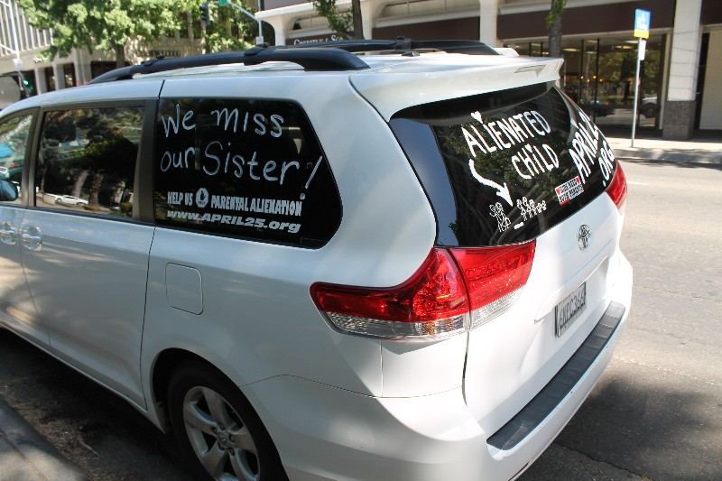 Parental Alienation Awareness Cross Country Tour Van