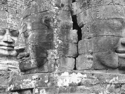 Bayon Temple Close up