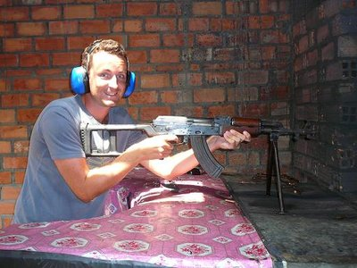 Rob and an AK47!