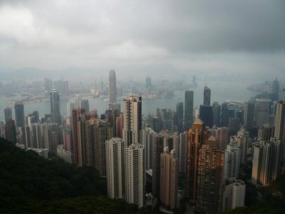 HK - Hong Kong Skyline
