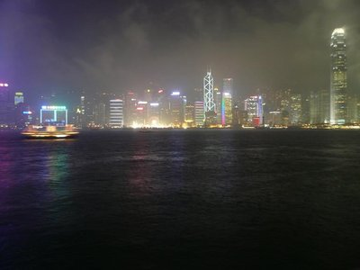 HK - Night Skyline
