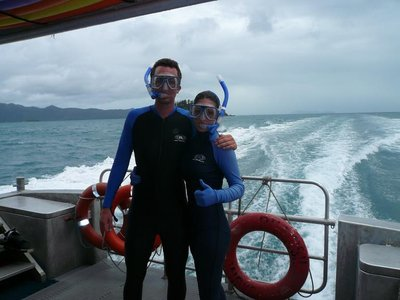 Aus - Hamilton Island Rob and Em stinger suits