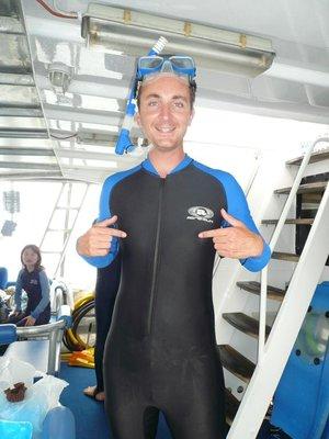 Aus - Hamilton Island Rob stinger suit