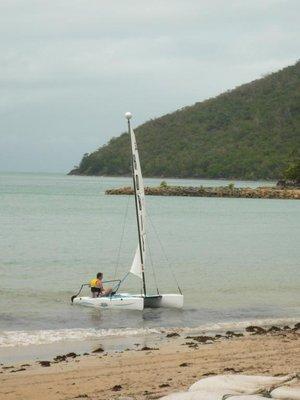 Aus - Hamilton Sailing