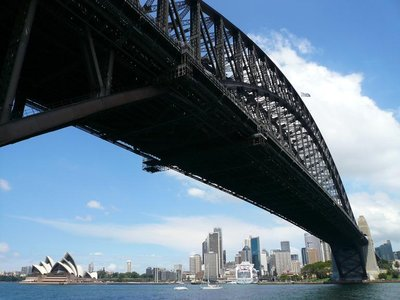 Aus - Sydney Bridge and Opera House