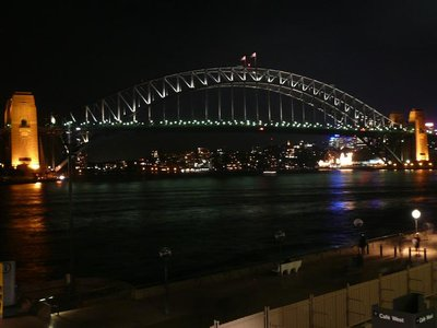 Aus - Sydney Bridge Night