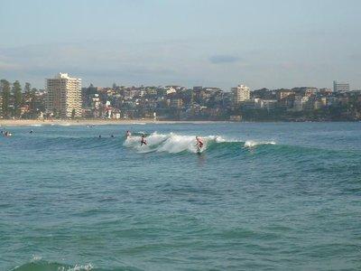 Aus - Manly surfing