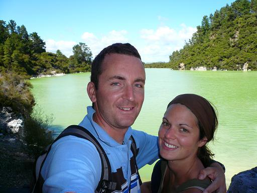 Wai-O-Tapu Lake Green