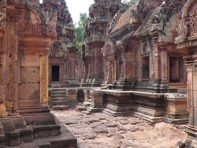 Banteay Srei 'Pink' Temple