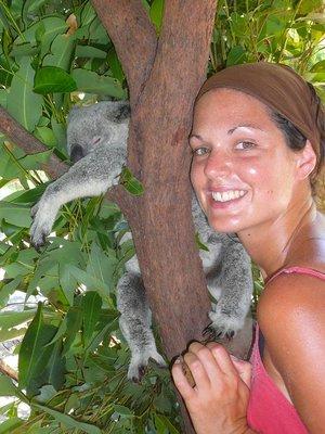 Aus - Zoo Em and Koala