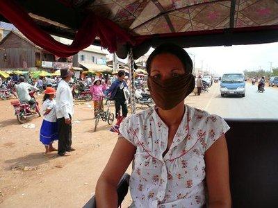 Tuk Tuk face mask