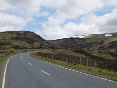 Road through the Cairngorms