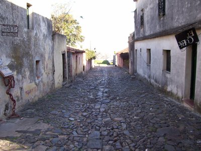 Colonia's oldest street