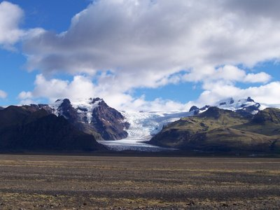 Glacier in Skaftafell NP