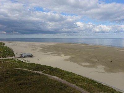 Northern tip of Texel