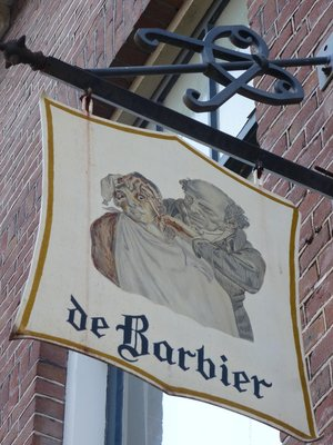Old Barber Sign