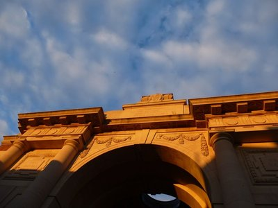 Sunset on the Menin Gate