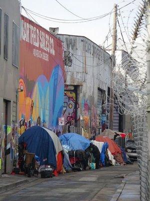 Shelter for the homeless