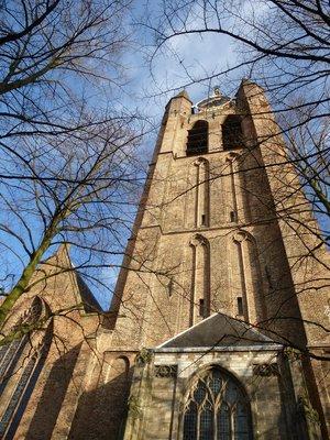 Delft's Old Church