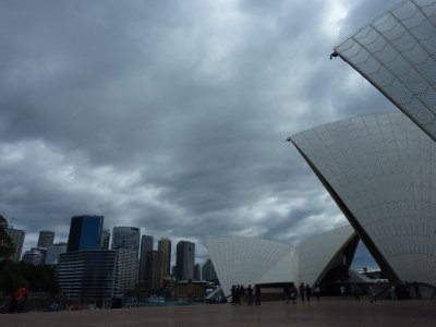 Opera House and Circular Quay, Sydney