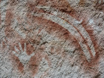 Aboriginal Rock Art Gallery, Carnarvong Gorge NP