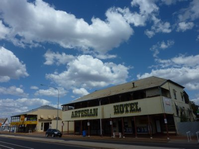 Pub town Barcaldine in Outback Queensland