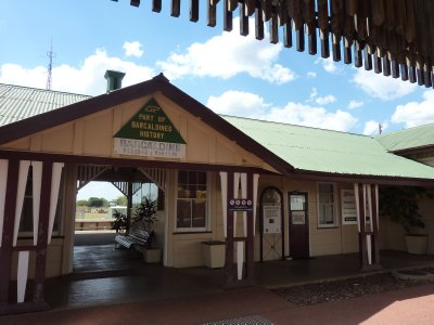 Barcaldine Trainstation