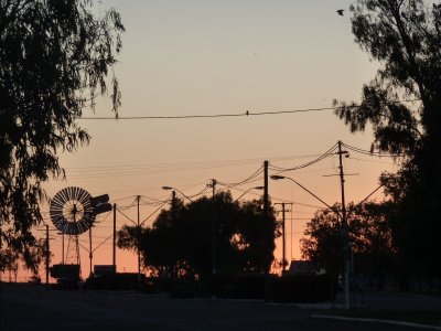 Sunset in Boulia, Queensland