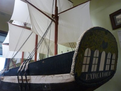 Endeavour replica, James Cook Museum, Cooktown