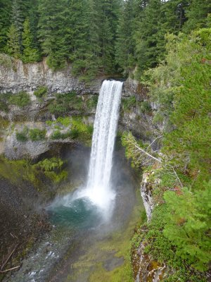 Sea to Sky Highway Waterfall