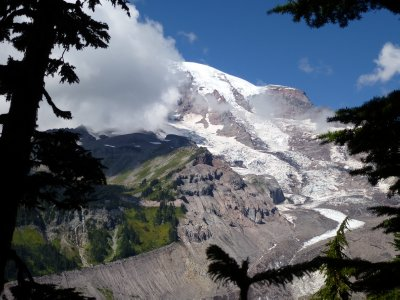 Nisqually Glacier Vista Point, Mount Rainier NP