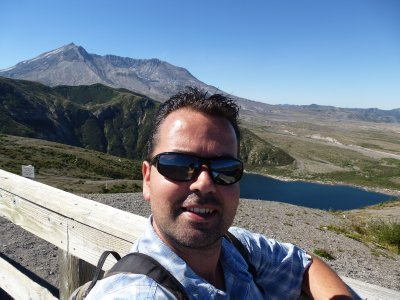 Me at Mount St Helens