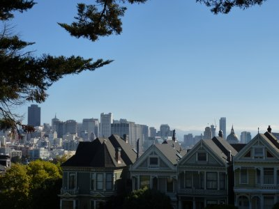San Francisco from Alamo Square