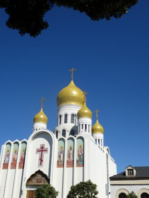 Russian Orthodox Church, Geary Street, SF