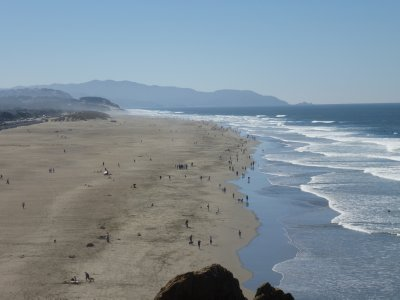 Beach near Pacifica, California