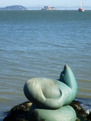 Seal Statue, San Francisco Bay Area