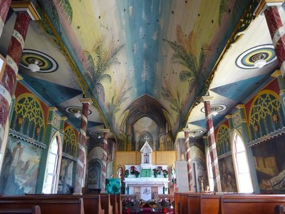 St. Benedictine's Painted Church