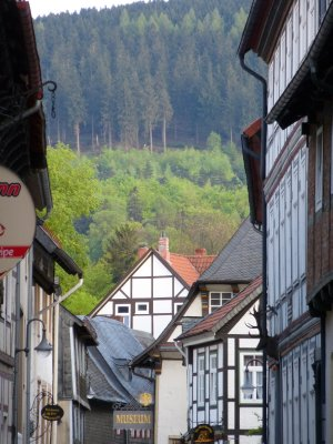Goslar in the Harz Mountains