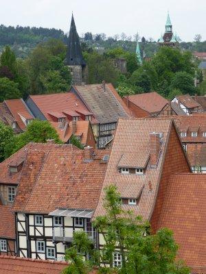 Quedlinburg roofs