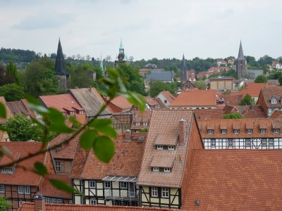 Quedlinburg view