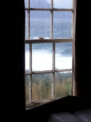 Lighthouse window view