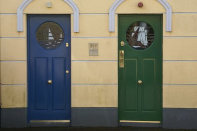 Cobh front doors