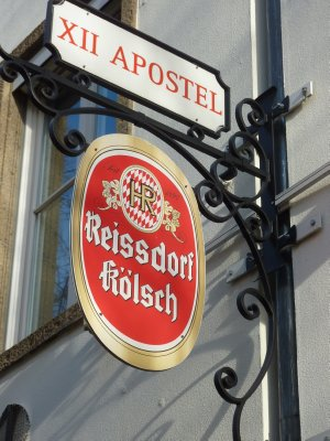 Cologne beer sign